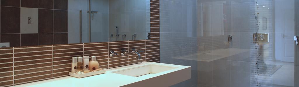 De design badkamers van Prestige Sanitair